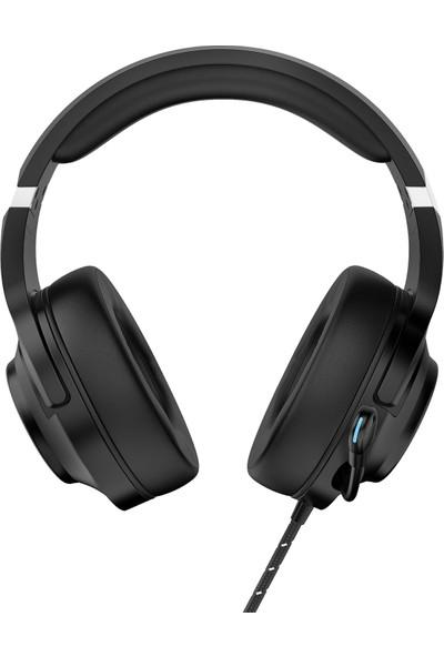 Rampage RM-K68 Scorpy USB 7.1 Surround Rgb Işık Efektli Mikrofonlu Kulaklık Siyah