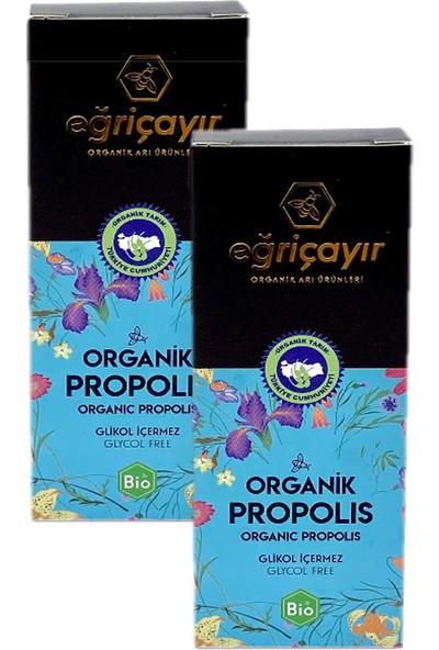 Eğriçayır Organik Sıvı Propolis Su Bazlı 20 ml x 2'li