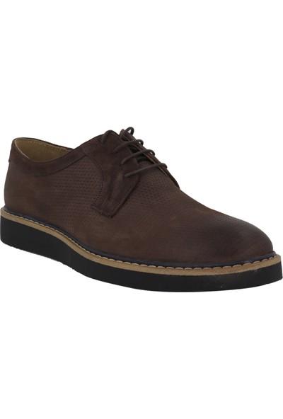 Hobby Kahverengi Nubuk Deri Klasik Erkek Ayakkabı YKT3320