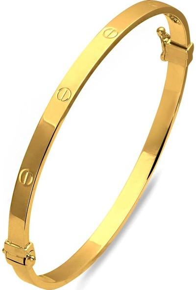 Bilezikci 7.50 gr Vidalı 22 Ayar Kelepçe Altın Bilezik