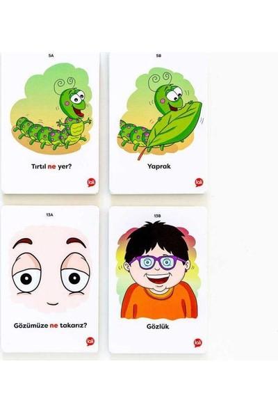 5N1K Konuşma Becerisine Destek ''ne'' Kart Oyunu