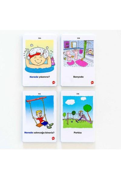 5N1K Konuşma Becerisine Destek ''nerede'' Kart Oyunu