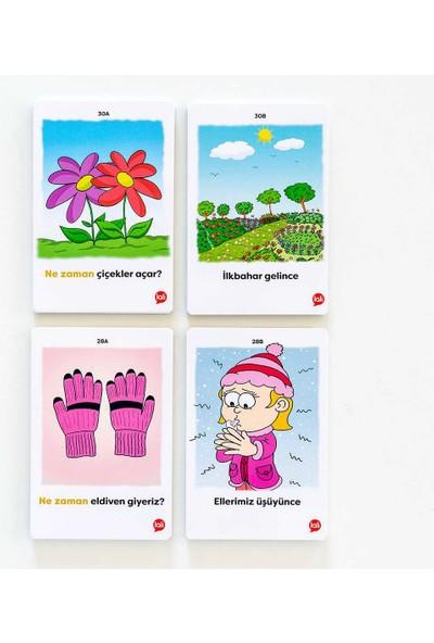 5N1K Konuşma Becerisine Destek ''ne Zaman'' Kart Oyunu