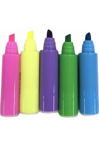 Meda Maxx Hlt-02 5 Renk Geçmeli Fosforlu Kalem