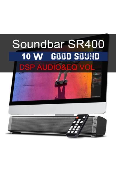 Buyfun Bluetooth Soundbars 2 x 5W Taşınabilir Kablolu ve (Yurt Dışından)