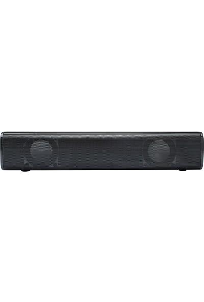 Buyfun 3W USB Powered Soundbar Ses Çalar 3.5mm Kablolu (Yurt Dışından)