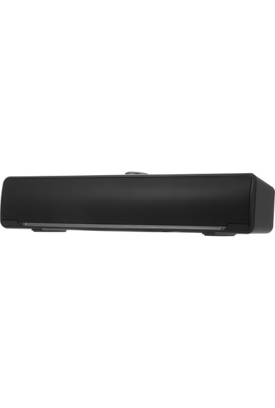 Buyfun V-196 Bilgisayar Hoparlör USB Kablolu Bar Stereo Subwoofer (Yurt Dışından)