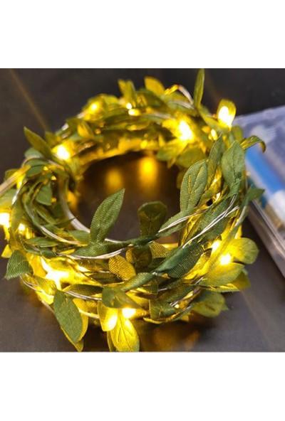 Deconorm Yapay Yapraklı Peri LED 3 Metre (Günışığı)