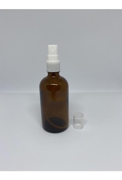 Şişecam Sprey Başlıklı Bal Renkli Cam Şişe 100 ml x 5