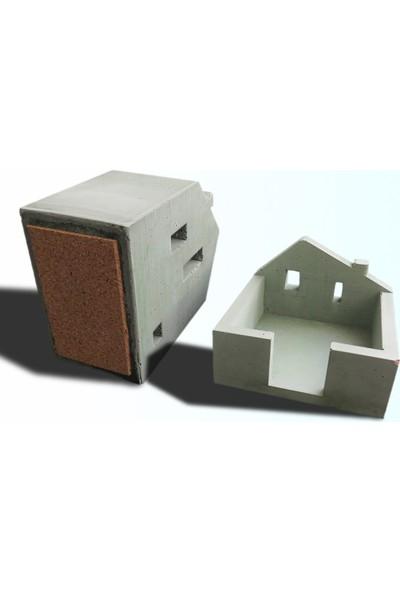 Ghogol Home Beton Ev Kalemlik + Notluk Seti Yeşil