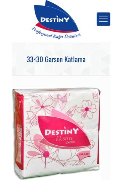Destiny 33 x 30 Garson Katlama Peçete
