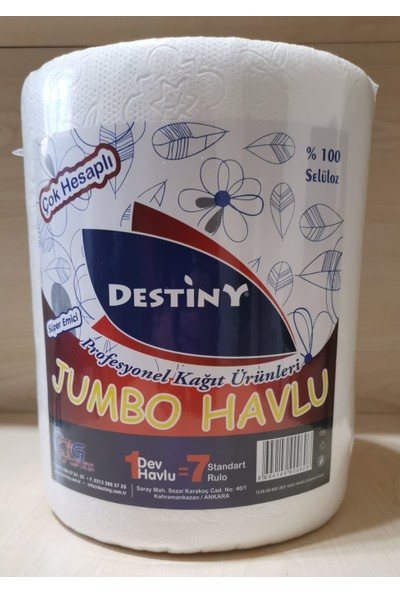 Destiny Jumbo Havlu