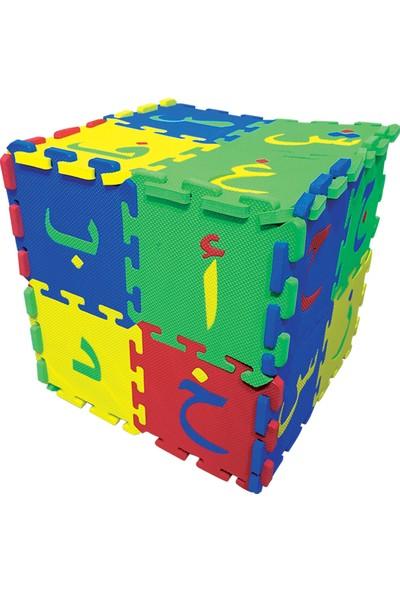 İtkan Arapça Harlfleri Puzzle (Eva)