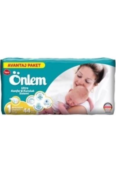 Önlem Çocuk Bezi Jumbo 1 Yeni Doğan 78'li + Önlem Çocuk Bezi 1 Yeni Doğan 44'lü
