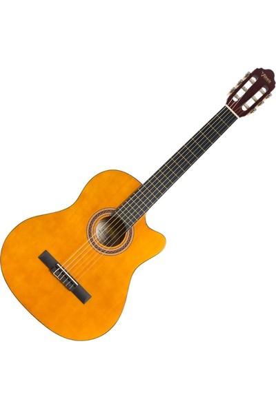Valencia VC104TC Naturel Klasik Gitar