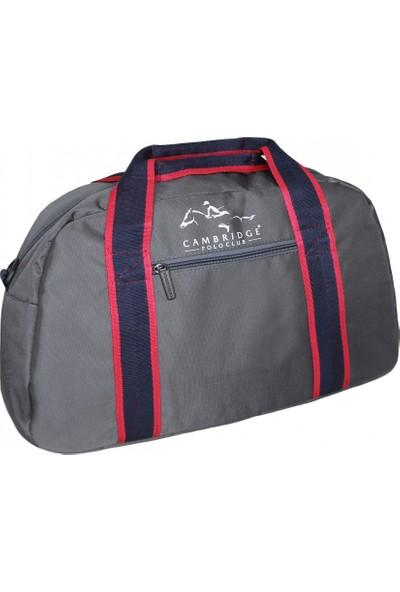 Cambridge Polo Club Spor & Seyahat Çantasıi Plvlz60017 Gri