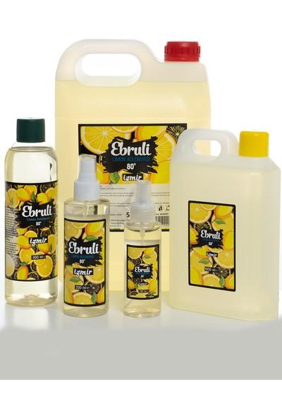 Ebruli Limon Kolonya Paketi 5 lt +1 lt + 400 ml + 200 ml + 100 ml