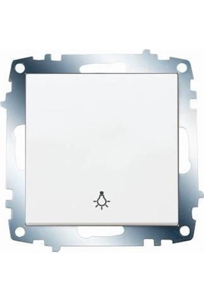 Viko Karre Lıght Beyaz ( Çerçeve Hariç ) 321011