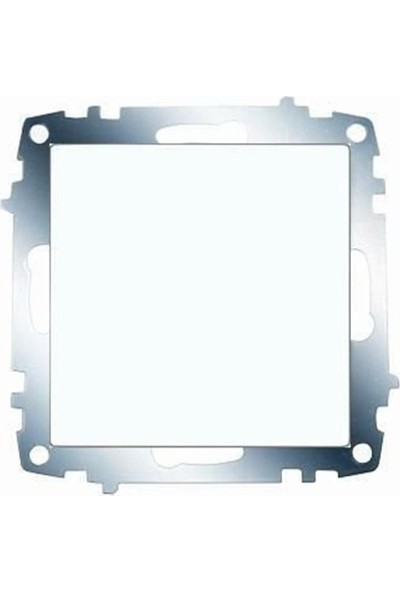 Viko Karre Tekli Anahtar Beyaz ( Çerçeve Hariç ) 321013