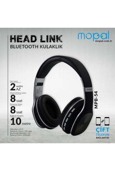 Mopal Bluetooth Kulaküstü Kulaklık Siyah Mpb-54