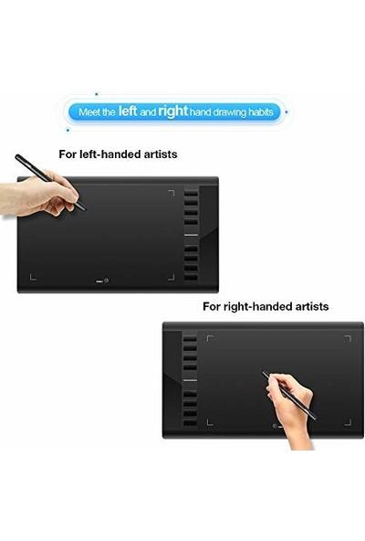 "Ugee M708 Profesyonel 10 x 6"" USB Grafik Tablet (Yurt Dışından)"