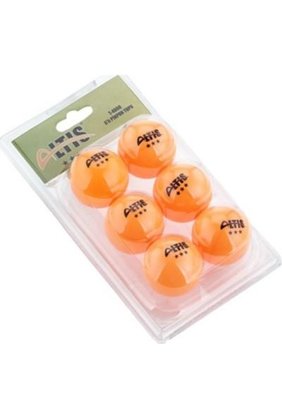 Altıs 6'lı Masa Tenisi Pinpon Topu Turuncu
