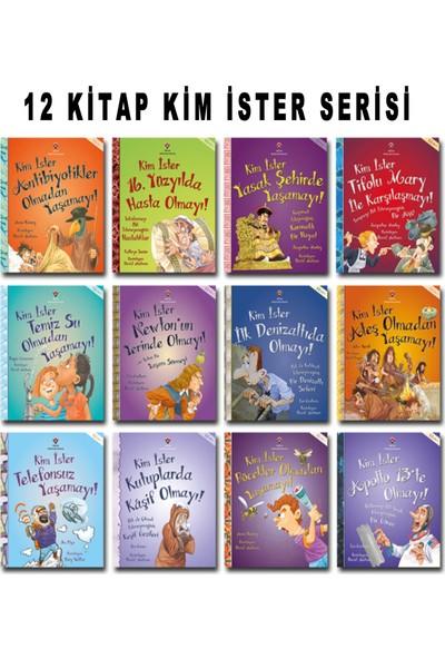 Tübitak Yayınları Kim İster Serisi 12 Kitap Kuşe Kağıt