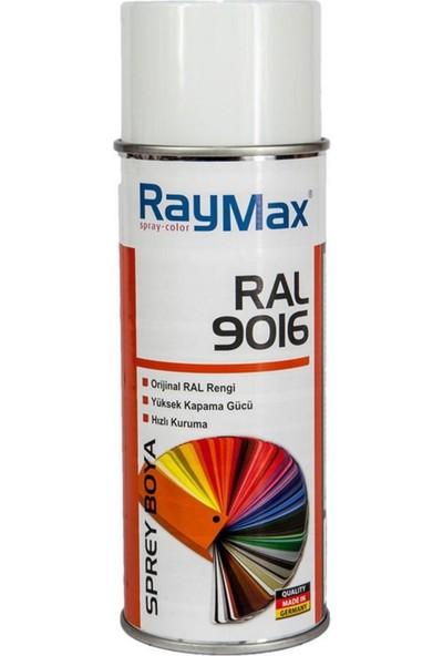 Raymax Akrilik Sprey Ral 9016 Trafik Beyazı 400ML.MADE In Germany
