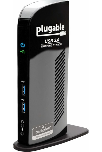 Plugable USB 3.0 Universal Laptop Dock - HDMI ve Dvı/vga/hdmı Gigabit Ethernet Ses 6 USB Port (Yurt Dışından)