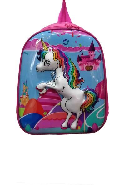 Unicorn Anaokulu Çantası Kreş Anasınıfı Çantası Oyun Çantası