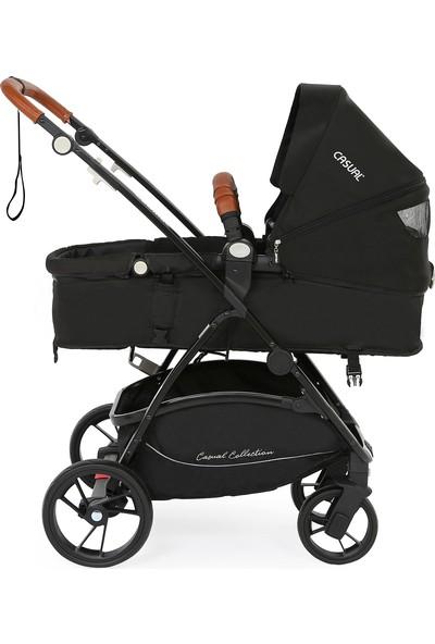 Casual Cadillac Air Pro Travel Sistem Bebek Arabası Siyah