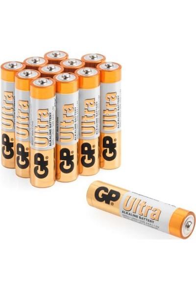GP Ultra Alkalin AAA Boy İnce Pil 12'li 661080