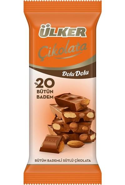 Ülker Çikolatalı Dolu Dolu Bademli 50 gr