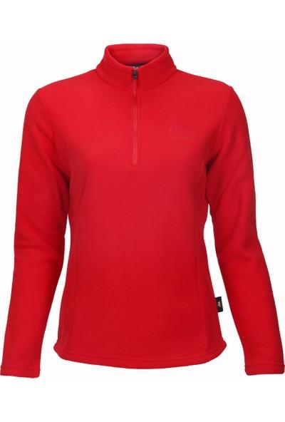 Alpinist Stormyy Kadın Outdoor Polar Kırmızı