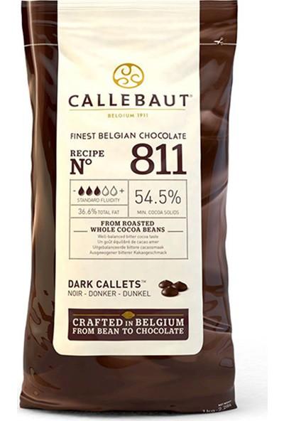 Callebaut Bitter Damla Kuvertür Çikolata 1 kg