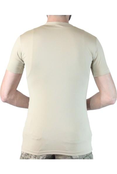 İstikamet Tsrt 001 Istikamet Microfiber Kısa Kol T-Shirt Askeri Yeşil