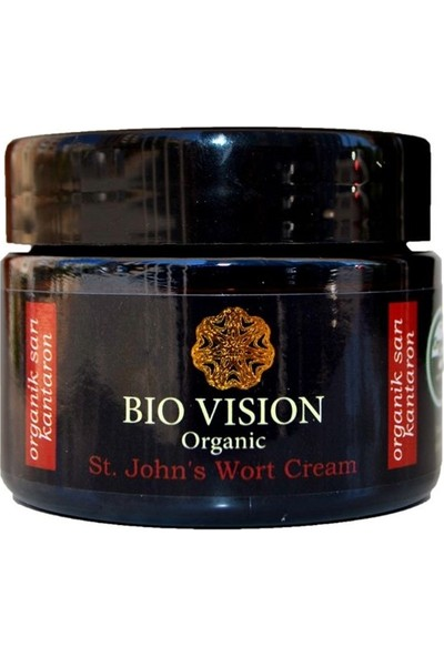Bıo Vısıon Organik Sarı Kantaron Kremi 50 ml