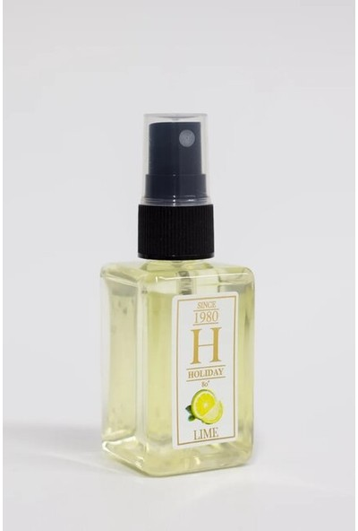 Holiday Limon Kolonyası 80 ° 50 ml Sprey