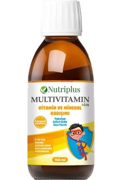 Farmasi Nutrıplus Multıvıtamın 150 ml