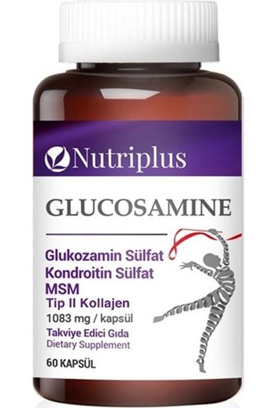 Farmasi Nutrıplus Glukozamın & Kondroıtın & Msm&tıp Iı Kollajen 60 Kapsul