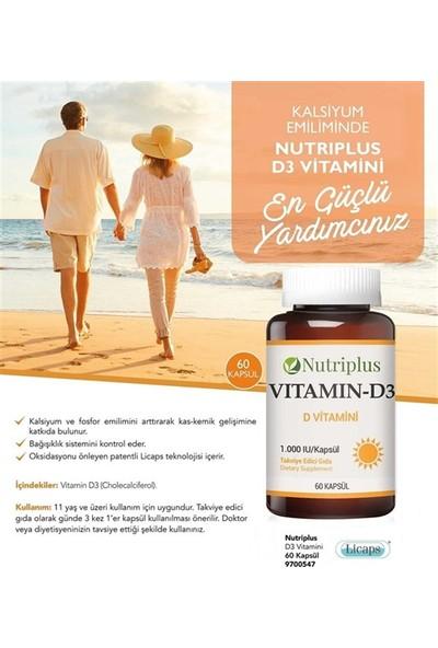 Farmasi Nutrıplus D Vitamini 60 Kapsül
