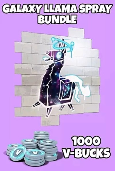 Fortnite - Galaxy Llama Spray Bundle Epic Games Dijital Kod