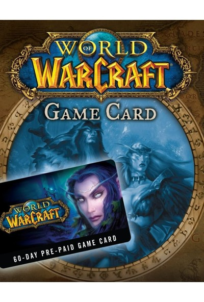 World Of Warcraft 60 Günlük Eu Prepaid Card Kodu
