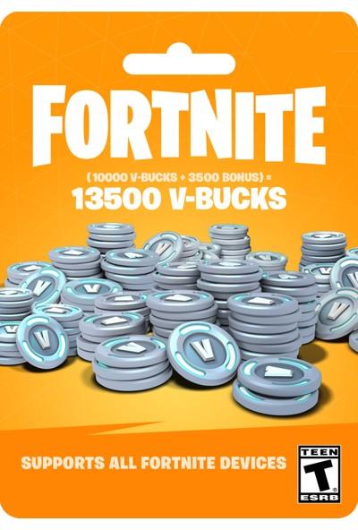 Fortnite 13500 V-Bucks Epic Games - PC Dijital Kod
