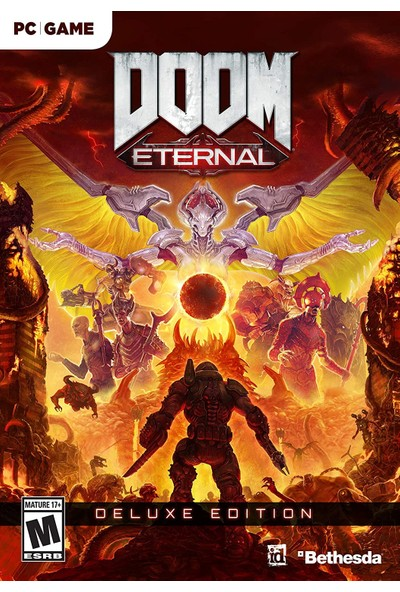 Doom Eternal - Deluxe Edition PC Bethesda Dijital Oyun
