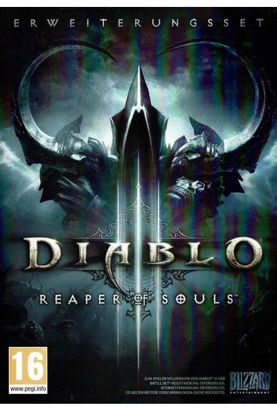 Diablo 3 Reaper Of Souls Blizzard Dijital Kod
