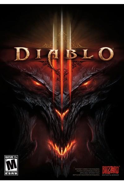 Diablo 3 - PC Blizzard Dijital Oyun