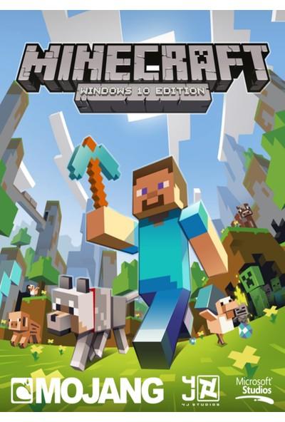 Minecraft - Windows 10 Edition Dijital Oyun