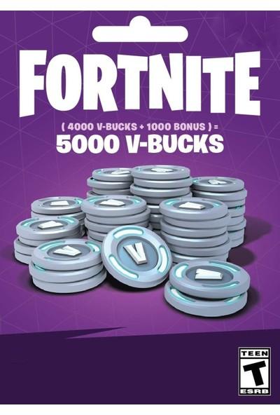 Fortnite 5000 V-Bucks Epic Games - PC Dijital Kod