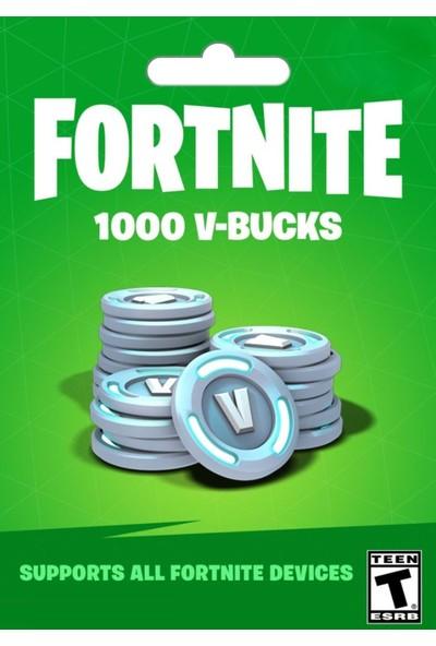 Fortnite 1000 V-Bucks Epic Games - PC Dijital Kod